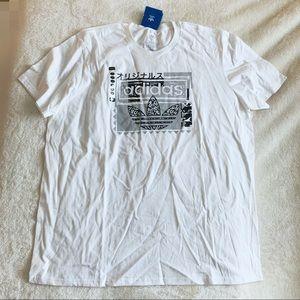NWT Adidas Logo Print Men's T Shirt